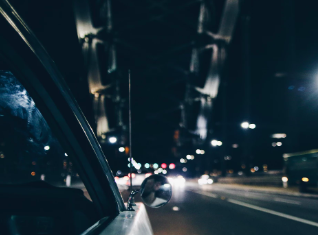 Staying Safe while driving at night