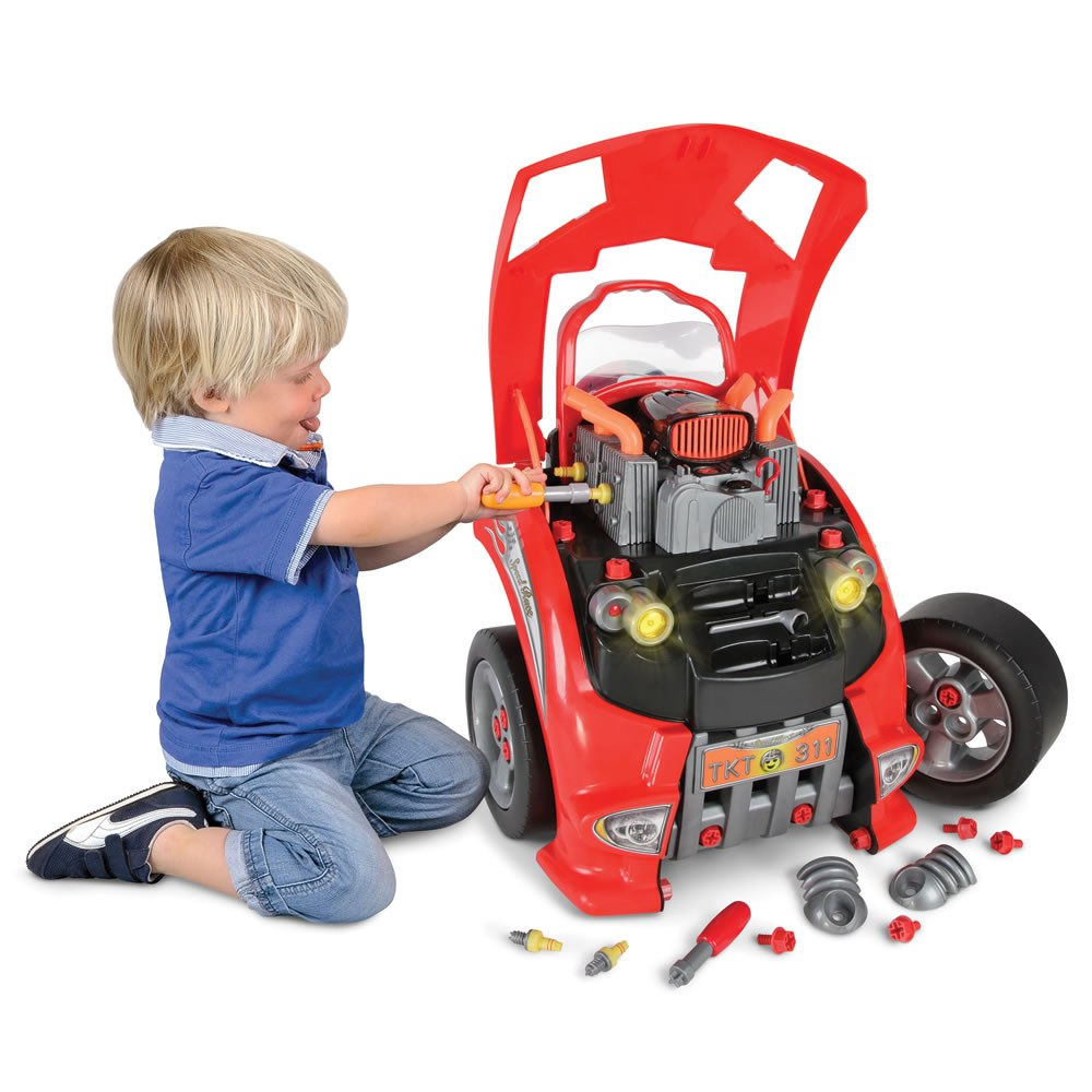 New Toy For Kids That Teaches Car Repair